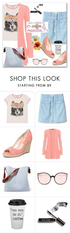 """""""All I need...."""" by kimzarad1 ❤ liked on Polyvore featuring Gucci, Gap, Dorothy Perkins, WearAll, Lanvin and Bobbi Brown Cosmetics"""