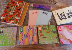 My Handbound Books - Bookbinding Blog: Sample books for a Japanese Bookbinding Course