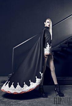 Nicolas Jebran Fall-winter 2014-2015 - Couture - http://www.flip-zone.net/fashion/couture-1/independant-designers/nicolas-jebran-4846