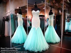 Aqua/Nude Lace Mermaid Evening Gown 2016 Piping Prom Dresses With Sweetheart Sleeveless Applique Beads Tulle Lace Up Gorgeous Pageant Party Pagent Dresses, Pageant Gowns, Prom Dresses Blue, Mermaid Prom Dresses, Homecoming Dresses, 20s Dresses, Grad Dresses, Long Dresses, Formal Dresses
