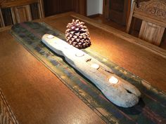 Driftwood art Driftwood candle holder by FlotsamJetsamCrafts, $35.00