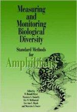 Measuring and Monitoring Biological Diversity. Standard Methods for Amphibians W. Ronald Heyer, Roy W. McDiarmid, Maureen A. Donnelly, Lee-Anne C. Hayek, Mercedes Foster (Editores) Smithsonian Institution Press, 1ª edição, 1994 ISBN: 978-1560982845  Tipo: Brochura  Número de páginas: 384