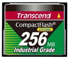 Transcend TS256MCF200I INDUSTRIAL CF CARD [256MB UDMA4]