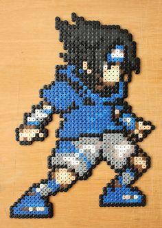 Sasuke Perler Bead Sprite by strepie93 on deviantART