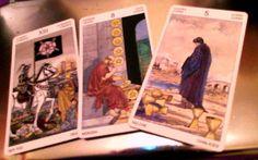 Tirada de 3 cartas para Escorpio  Tus cartas para este mes son: La Muerte, 8 de Oros y 5 de Copas. Diciembre 2012