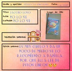 Vicky recomienda esta aventura de Jacobo Lobo, un personaje viajero Character, Adventure, Author, Book