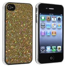 @Overstock - This is a gold bling rear snap-on case for Apple iPhone 4/ 4S. Protect your cell phone against bumps and scratches with this accessory case.http://www.overstock.com/Electronics/Gold-Bling-Rear-Snap-on-Case-for-Apple-iPhone-4-4S/6576393/product.html?CID=214117 $4.41