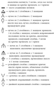 Crochet symbols i always tell my students that learning to read a crochet symbols in russian 3 ccuart Images