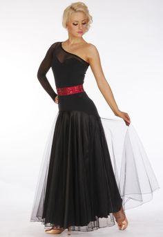 Soft net skirt
