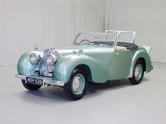 1949 Triumph 2000 Maintenance/restoration of old/vintage vehicles: the material for new cogs/casters/gears/pads could be cast polyamide which I (Cast polyamide) can produce. My contact: tatjana.alic@windowslive.com