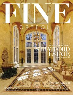 FINE Portfolio | 6/14  Featuring luxury homes and lifestyles in the Greater Washington, DC area.