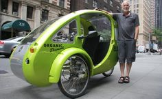 Navigating the Greenway: 1,200-Mile Journey in an Electric Bicycle-Car