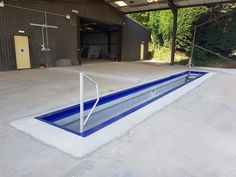 Barn Garage, Garage Shop, Garage Doors, Vehicle Inspection, Precast Concrete, Tonne, Car Wash, Workshop, House Design