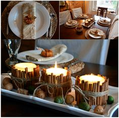 Beautiful #Decor for your dinning room! @Beth J Hunter shares tips on our blog. http://blog.homes.com/2011/11/vote-for-your-favorite-thanksgiving-decor-2/# #pinspiration