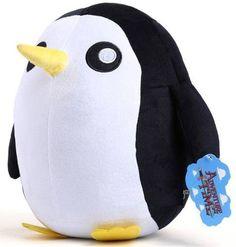 Adventure Time Ice King's Pet Penguin Plush Doll