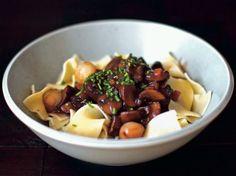 Smitten Kitchen's Mushroom Bourguignon