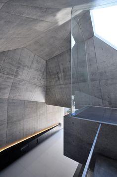 Minimalisti interior design - Concrete house in Japan