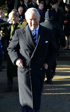 Prince Charles attend the Christmas Day Service 2013 at The Church of St Mary Magdalene, Sandringham Estate Norfolk