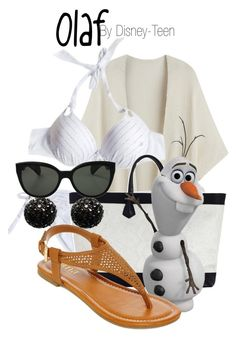 """""""Olaf"""" by disney-teen ❤ liked on Polyvore"""