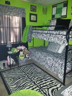 zebra print and lime green bedroom black white zebra bedrooms