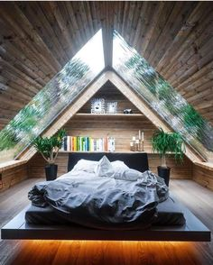 5 free DIY Tiny House plans to help you live the small and happy life # . 5 free DIY Tiny House plans to help you lead a small and happy life # tiny house , 5 Free DIY Tiny House Plans to Help You L. Dream Rooms, Dream Bedroom, Small Room Bedroom, Master Bedroom, Modern Bedroom, Contemporary Bedroom, A Frame Bedroom, Bedroom Minimalist, Tiny House Bedroom
