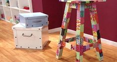 Renovar móveis e objetos de madeira está em alta, e tanto para evitar o desperdício quanto para reno