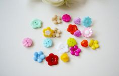 Mix knapper blomster