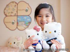 Hello Kitty Room pair dolls