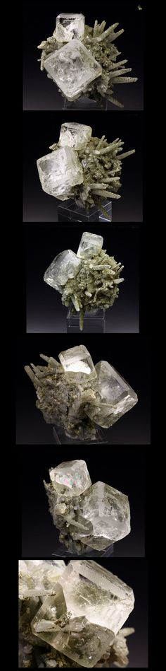 Fluorite with Quartz, I normally don't care for these big tall pins but I have to make an exception in this case...