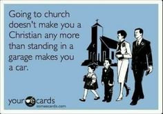 This could not be more true. People think they'll go to heaven when they die only bc they go to church& that's a lie. You gotta do your part!