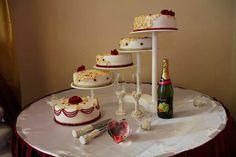 Bollywood inspired henna/mehndi wedding cake