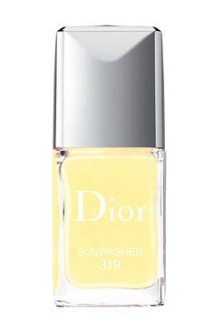 Nail Your Summer Mani-Pedi With These Scorching Shades #refinery29  http://www.refinery29.com/summer-nail-polish-colors#slide-5  Pastel YellowHere, again, we see a new take on a fairly yawn-inspiring tone. Pastel and bright yellow can both feel passé, but together they pack a serious punch. This lacquer — so appropriately named Sunwashed — feels like it got hit by the sun's reflection.