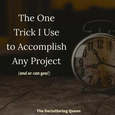 The BEST advice ever on how to accomplish big dreams when you don't have a lot of time!
