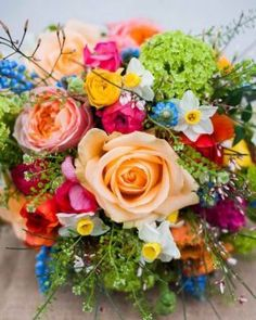 Happiness is..... Striking colourful Bouquet. (80 pieces)