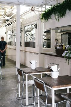 Melbourne's carnivorous residents have reason to be cheerful, as 1930s garage turns meat workshop...