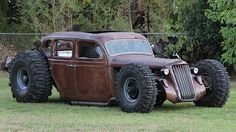1936 Plymouth off road rat rod
