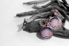 Orecchini+Art+to+wear+22+in+rame++di+SilmieCreations+su+DaWanda.com