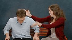 Fitz & Simmons first screen testing! Awwww this is adorable! I love it!