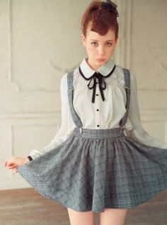 cute blouse and skirt