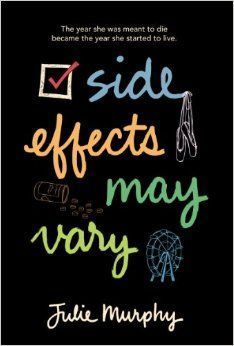 17 young adults books worth reading this year, including Side Effects May Vary by Julie Murphy. Ya Books, I Love Books, Good Books, Books To Read, Free Books, This Is A Book, The Book, Reading Lists, Book Lists