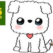 Kawaii Dibujos De Perros Para Pintar Perritos Kawaii Para Colorear Buscar Con Google Dibujos Kawaii