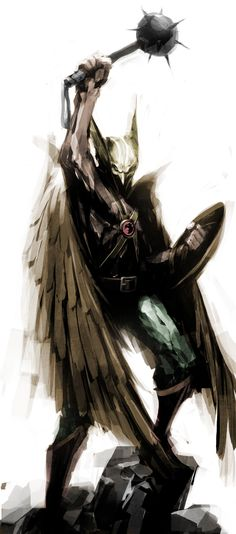 Hawkman Artist Unknown