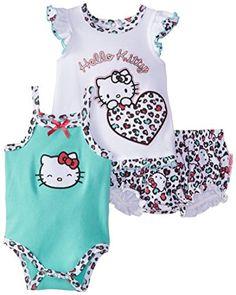 Hello Kitty Baby-Girls Newborn Leopard Print Diaper Set, Green, 3-6 Months Hello Kitty http://www.amazon.com/dp/B00S7ZIEHG/ref=cm_sw_r_pi_dp_iF9Bvb1A08TES