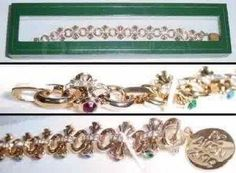 Vintage Avon Brilliant Treasure Bracelet 2004 NIB