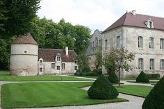 Abbaye de Fontenay, France (Cote d'Or, Burgundy): tourism ...