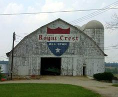Advertisements on barns--made road trips more interesting as a kid!