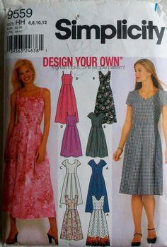 Women's Sewing Pattern Sun Dress in Two Lengths by Sutlerssundries, $7.50