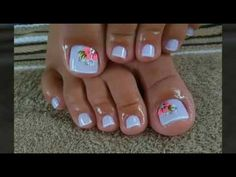 Toe Nail Color, Toe Nail Art, Nail Colors, Pretty Toe Nails, Cute Toe Nails, Gel Toe Nails, Gel Toes, Toe Nail Polish, Acrylic Toe Nails