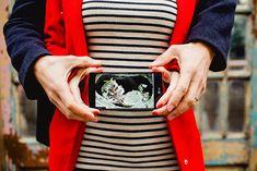 annonce grossesse / publié sur withalovelikethat / photographe navyblur