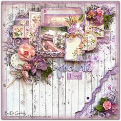 """Di's Creative Space: My February DT Reveal for The Scrapbook Store""""Favourite Things"""""""